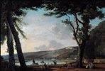 Blick auf die Hügel von Bellevue