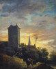 Landschaft mit Turm