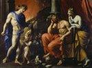 Orpheus vor Pluto und Persephone