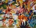 Farbige Komposition II. (großer Blumenteppich)
