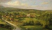 Blick auf Schönberg im Taunus