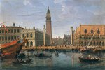 Blick zum Markus-Platz, Venedig