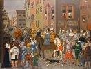 Der Einzug des Königs Rudolf von Habsburg in Basel im Jahre