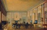 Mal-Atelier im Moskauer Kunstkolleg. 1830-er Jahre