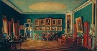 Das Studio des Fürsten P. Subov. (1767-1822). 1840-er Jahre