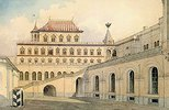 Das Gefängnisgebäude des Zaren Alexej Mikhailowitsch