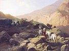 Lastpferde im Kaukasus