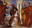 Das Martyrium der Hl. Justina
