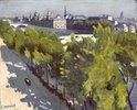 Uferpromenade und Louvre und neue Brücke