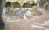 Damen im Garten