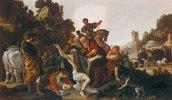 Nebukadnezar erhält die Königswürde zurück. Wohl