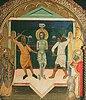 Die Geisselung Christi. (Pisa, 14. Jahrhundert)