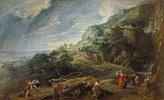 Odysseus auf der Insel Feaci