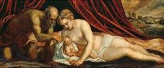 Venus, Vulkan und Amor