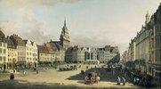 Der Alte Markt in Dresden