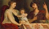 Eumenes und Roxane (Frau Alexander´s des Grossen)