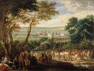 Die Ankunft Louis XIV. in Vincennes. (spätes 17. Jahrhundert)