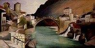 Römische Brücke in Mostar