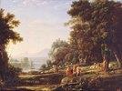 Landschaft mit Apollo und Marsyas