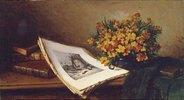 Stillleben mit Lithographie