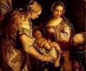 Die hl.Familie mit der hl.Anna und dem Johannesknaben