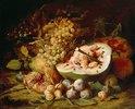 Früchtestillleben. 1670er Jahre