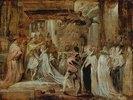 Die Krönung der Königin Maria de Medici in Paris