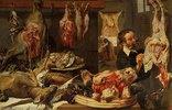 Ein Fleischerladen. 1630er Jahre