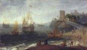 Seehafen mit Fischmarkt