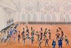 Die Garde paradiert, 1820-er Jahre