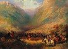 Zar Alexander II. in den kaukasischen Bergen (1. Hälfte 19. Jahrhundert)