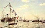 Kaiser Wilhelm I. besucht Kronstadt im Juli