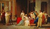 Die Verlesung des Todesurteils des Theseus