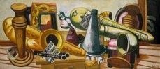 Stillleben mit Saxophonen