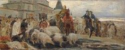 Die Hinrichtung des Fürsten Miloslavsky
