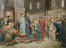 Die Volksversammlung beruft Michail Romanow zum Herrscher