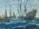 Schiffe des Zaren Peters des Grossen