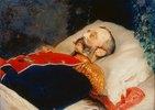 Zar Alexander II. auf dem Totenbett