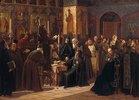 Der Widerstand des Klosters Solovetsky gegen die neuen Bücher