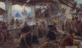 Die Verteidigung des Sergius-Klosters in Zagoresk