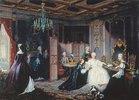 Zarin Katharina II. empfängt einen Brief
