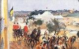 König Viktor-Emanuel III. von Italien auf der Weltausstellung