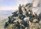 Die Verteidigung des Adlerhorstes auf dem Berg Shipk