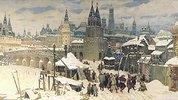 Die Wseswjatskij-Brücke in Moskau, Ende des 17. Jahrhunderts