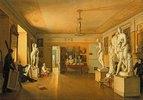 Das Atelier von Alexej Venetsianov in St. Petersburg