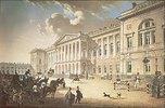 Der Michaels-Palast in St. Petersburg. 1820-er Jahre