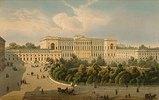 Der Palast des Grossfürsten Mikhail. 1850-er Jahre