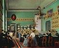 In der Mädchenklasse der St. Petersburger Zeichenschule