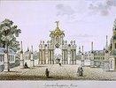 Das Rote Tor in Moskau. 1790-er Jahre