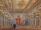 Die St.Georgs Thronhalle im Winterpalast in St.Petersburg